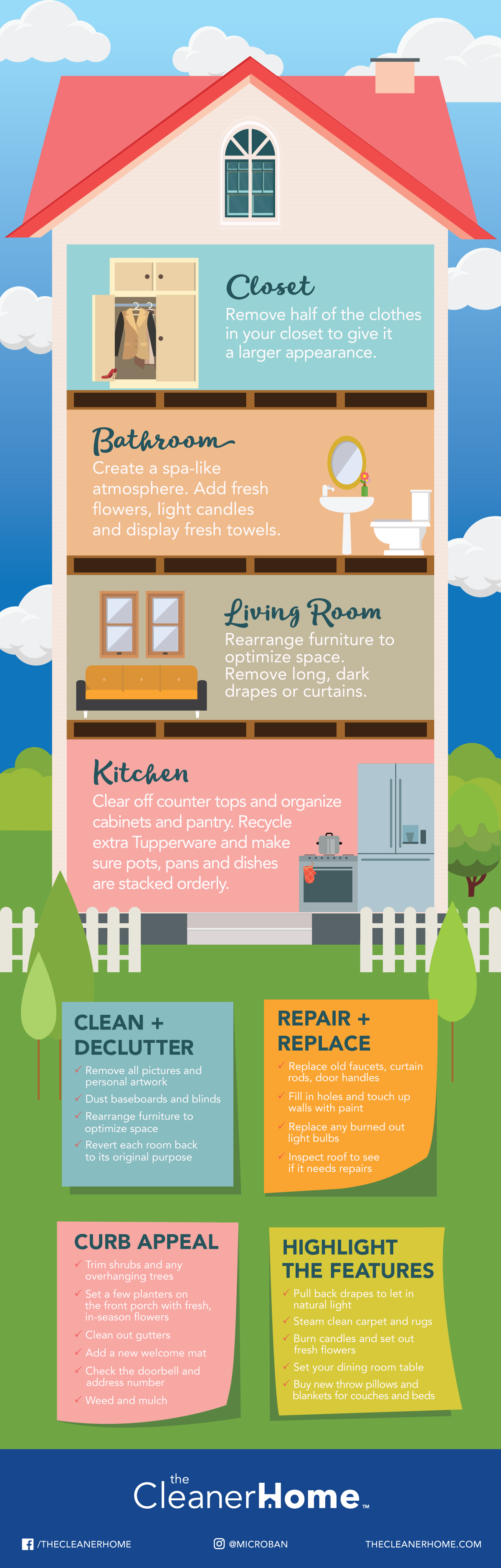 Putting Your House On The Market Heres Your Cleaning Checklist