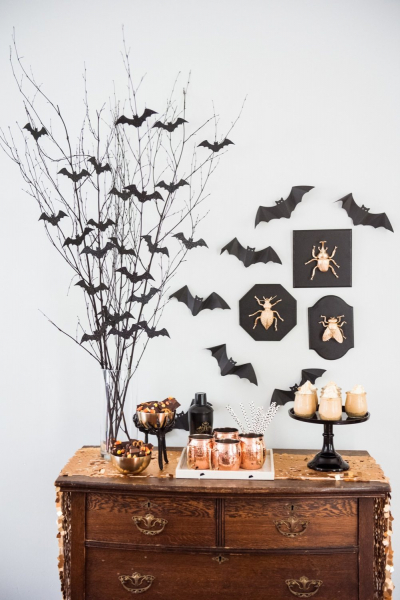 The Cleaner Home Diy Halloween Centerpiece