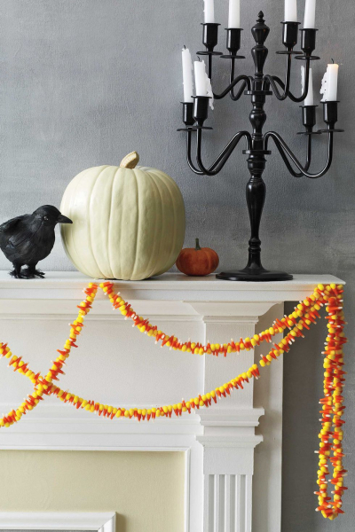 The Cleaner Home Diy Halloween Decorations Candy Corn Garland
