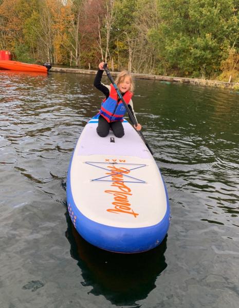 July Blog Izzy Paddleboarding