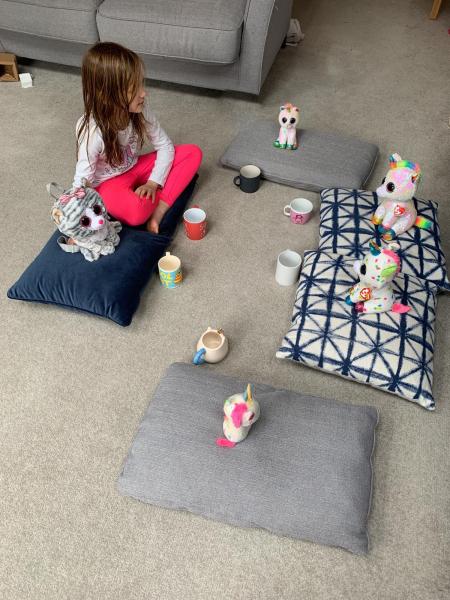 TCH John Adams Homeschooling Hacks Izzy Her Tea Party