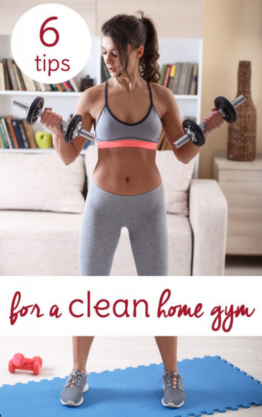 Tips For Cleaning Your Home Gym2