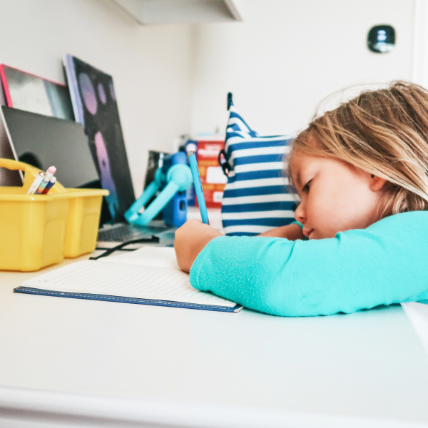 back to school - kids homework station