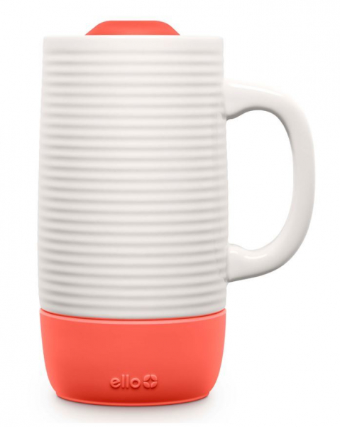 Microban The Cleaner Home Ello Jane Ceramic Travel Mug Holiday Office Gift Guide Gifts For Coworkers