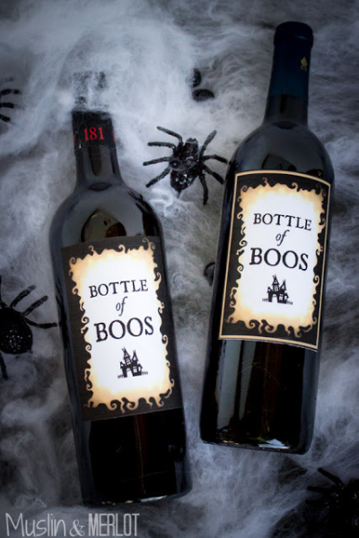 The Cleaner Home Diy Halloween Decorations Bottle Of Boos