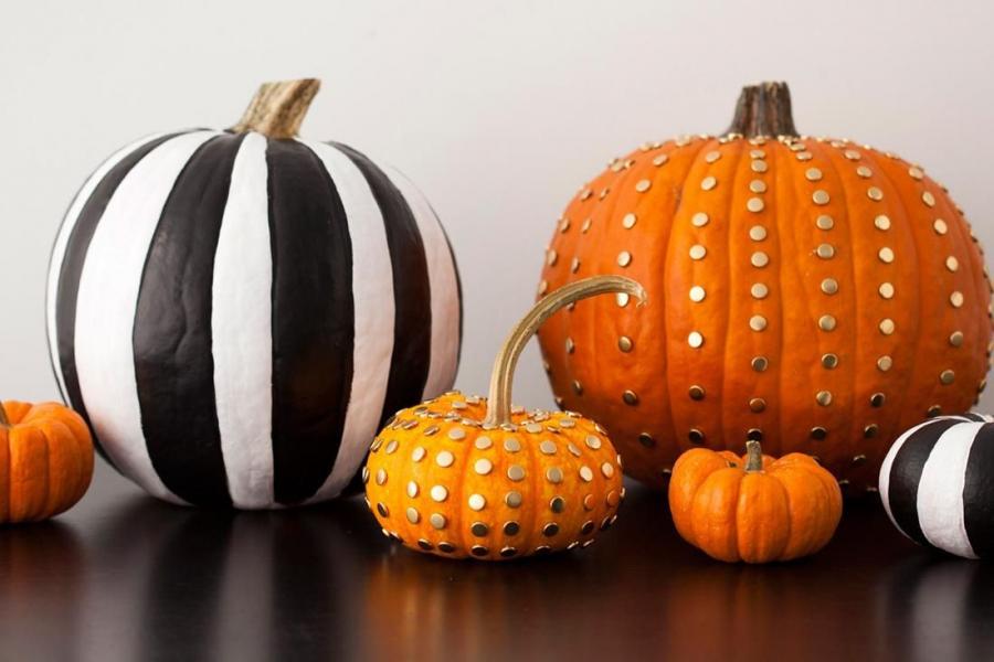 The Cleaner Home Diy Halloween Decorations No Carve Pumpkins