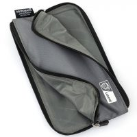 Antimicrobial Zippered Mask Pouch