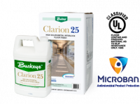 Clarion® 25 High Solids/Metal Interlock Floor Finish